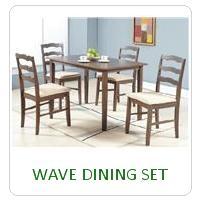 WAVE DINING SET